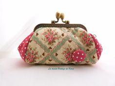 Monedero-neceser con boquilla de La Tienda Vintage de Kima por DaWanda.com