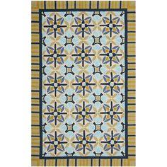 Safavieh Four Seasons Stain Resistant Hand-hooked Tan Rug (8' x 10')