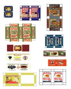 Free Printable Dollhouse fullpagegrocery001 http://www.jensprintables2.com/groceryfullpage001.htm