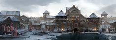 ArtStation - Slavic palace, Dmitry Dubinsky