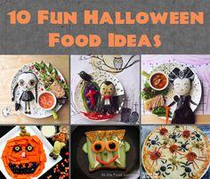 10 Fun Halloween Food ideas - great for kids! #halloween #food