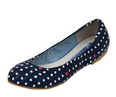 Navy Bunny Footprints v.02 Ballet Flats - Ballet Flats - Collection (other cute and comfy looking shoes on this site as well!)