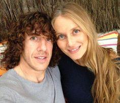 Carles Puyol y Vanesa Lorenzo esperan su primer hijo