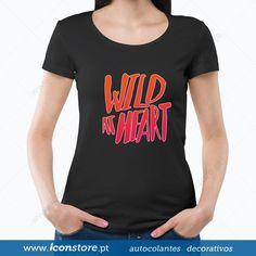 T-shirt Wild at Heart (Mulher)