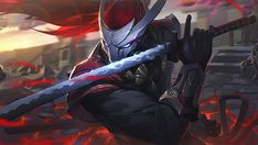 Blood Moon Yasuo, League of Legends, LoL, Video Game, wallpaper