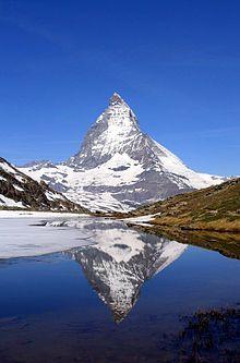 Matterhorn in Zermatt, Switzerland