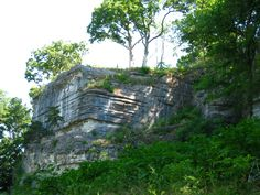 Prairie du Rocher bluffs, 2012