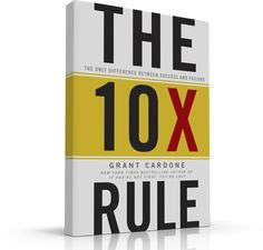 The Rule: The Only Difference Between Success and Failure, a book by Grant Cardone Reading Lists, Book Lists, Reading Room, Good Books, Books To Read, Amazing Books, Kindle, Success And Failure, Achieve Success