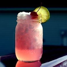 Want that dazzling super glowy look? Try this radioactive cherry limeade.