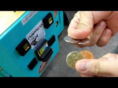 """""""ALWAYS, check your coin returns"""" in vending machines + arcade games! Sometimes you find coins inside - no hacks required, just press t. Claw Machine, Vending Machine, Arcade Games, Usb Flash Drive, Coins, Check, Rooms, Usb Drive"""