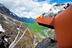 Trollstigen. Visit Norway, Fern, Sweden, Mount Everest, Mountains, Nature, Travel, Traveling, Fern Plant