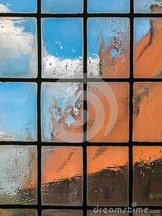 Old blurry glass window stock image. Image of castle - 69711077 Window View, Architecture Details, Man, Castle, Old Things, Windows, Stock Photos, Glass, Painting