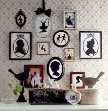 I love silhouette art Love Silhouette, Vintage Silhouette, Silhouette Frames, Silhouette Pictures, Shabby Chic, Victorian Decor, Of Wallpaper, My New Room, Decorating Your Home
