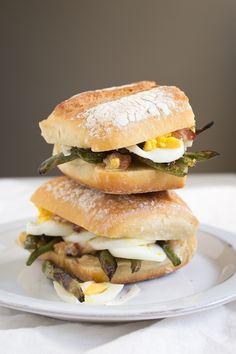green bean sandwich