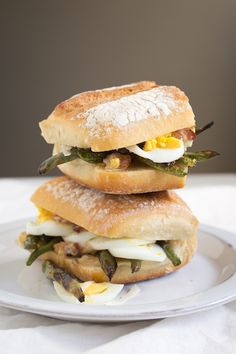 green bean sandwich