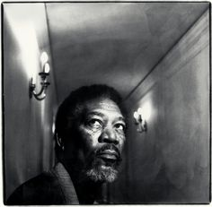 Morgan Freeman by Alain Duplantier