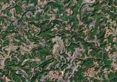 Mountaintop removal - It appears that mountaintop removal mining has been done extensively throughout this region, though the quality of the satellite images makes it difficult ...