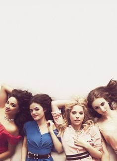 Shay Mitchell, Lucy Hale, Ashley Benson, & Troian Bellisario