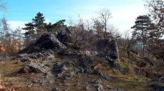 Velká Skála - part of that old protected rock formation