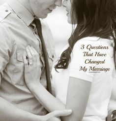 These 3 simple questions have totally changed my marriage. ohsweetbasil.com.