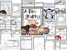 Writing Biographies! {FREEBIE} ... Follow for free 'too-neat-not-to-keep' teaching tools & other fun stuff :)
