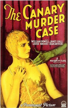 Louise Brooks ~ The Canary Murder Case - 1929 #1