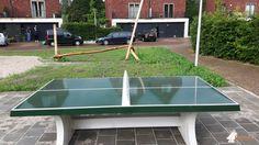 Pingpongtafel Groen bij Speelplek Wipstrikpark in Zwolle