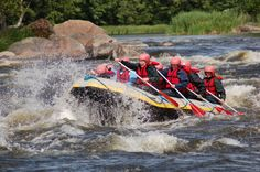 In Finland there are several free flowing rivers offering great changes for… Holiday Activities, Summer Activities, Beautiful Scenery Pictures, Online Travel, Best Cities, Travel Agency, Rafting, Fly Fishing, Boat