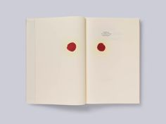 Anish Kapoor's first major solo show in Germany was accompanied by a handsome catalogue stained with red oil and designed by UK studio, Brighten the Corners. It has just won them the Grand Prize at the Tokyo Type Directors Club