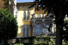 Villa Scott - MuseoTorino Victorian Architecture, Architecture Art, Continents And Countries, Living In Italy, Modern Architects, Small Group Tours, Italian Villa, Turin, Travel And Leisure