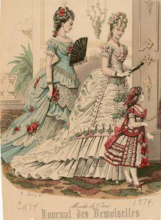 Journal des Demoiselles 1874