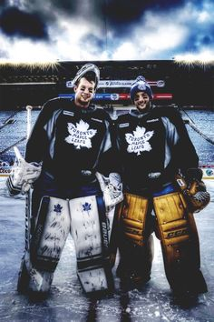 reimer and bernier; goalies ♡