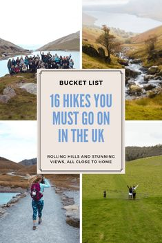 Looking for an active adventure close to home? Let me inspire you with 16 hikes in the UK that you absolutely have to experience! Travel List, Travel Goals, Travel Guides, Places To Travel, Travel Destinations, Places To Visit, Hiking Routes, Uk Holidays, Best Hikes