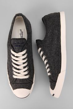 $75 Converse Jack Purcell Wool Sneaker