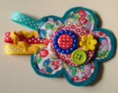 Button Fayre brooch