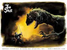 Artwork for Heroes TV Series by Tim Sale