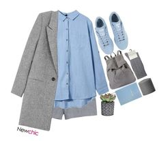 """""""#NewChric"""" by credentovideos ❤ liked on Polyvore featuring Icebreaker, Sloane Stationery, adidas, Falke, women's clothing, women, female, woman, misses and juniors"""