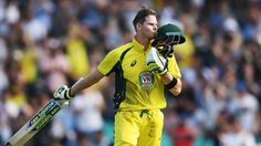 Australia captain Steve Smith blasted a career best the ODI innings at the Sydney Cricket Ground, to drive the hosts to a victory over NZ Sydney Cricket Ground, Steve Smith, Cricket News, Will Smith, Victorious, Career, Australia, Running, Carrera