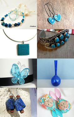 Blue collection by OlesyaLugovaya on Etsy--Pinned with TreasuryPin.com
