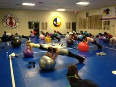 McKinney Texas Fit Chicks Indoor Boot Camp...check out these chicks!