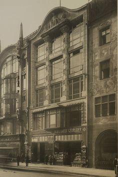 Friedrichstraße 181.. Geschäftshaus (nicht erhalten) um 1892
