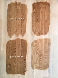 In several of my designs Ive installed beautiful hardwood