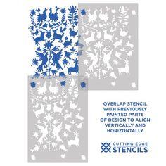 Otomi Stencil Pattern