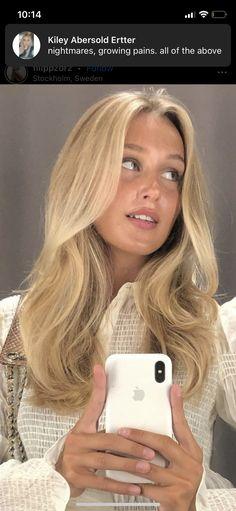 Light Blonde, Selfie, Hair, Strengthen Hair, Selfies