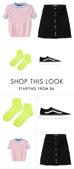 """Outfit idea"" by haawnah on Polyvore featuring Topshop, Vans, men's fashion and menswear"