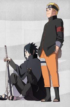 Uzumaki Naruto and Uchiha Sasuke Sasuke Sharingan, Naruto Vs Sasuke, Anime Naruto, Kurama Susanoo, Wallpaper Naruto Shippuden, Naruto Wallpaper, Naruto Shippuden Anime, Boruto, Sasunaru