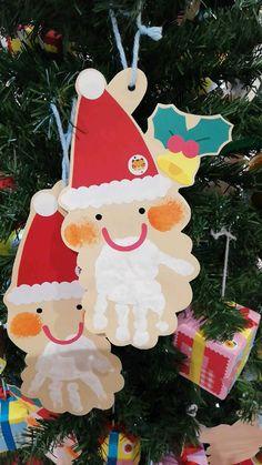 Preschool Christmas, Christmas Crafts For Kids, Christmas Cards, Christmas Ornaments, Craft Activities, Preschool Crafts, Christmas Art Projects, Handprint Art, Grandparent Gifts