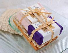 Soap Gift Set Organic Handmade Vegan Soap and by SweetSallysSoaps, $22.00