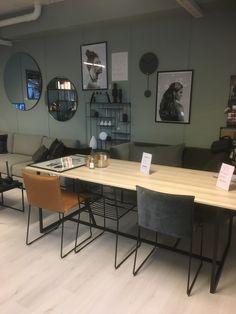 Utstilling showroom Conference Room, Dining Table, Furniture, Home Decor, Decoration Home, Room Decor, Dinner Table, Home Furnishings, Dining Room Table