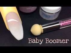 How to easy babyboomer soak off nails - Najłatwiejszy sposób na cieniowany french - YouTube
